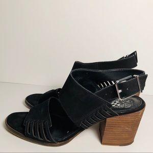 Vince Camuto Karmelo Suede Dress Sandal size 7.5